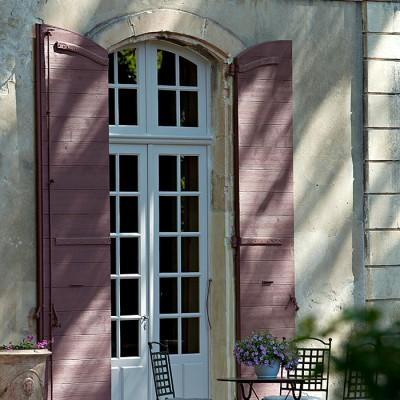 Menuiseries bois volets et porte fenêtre