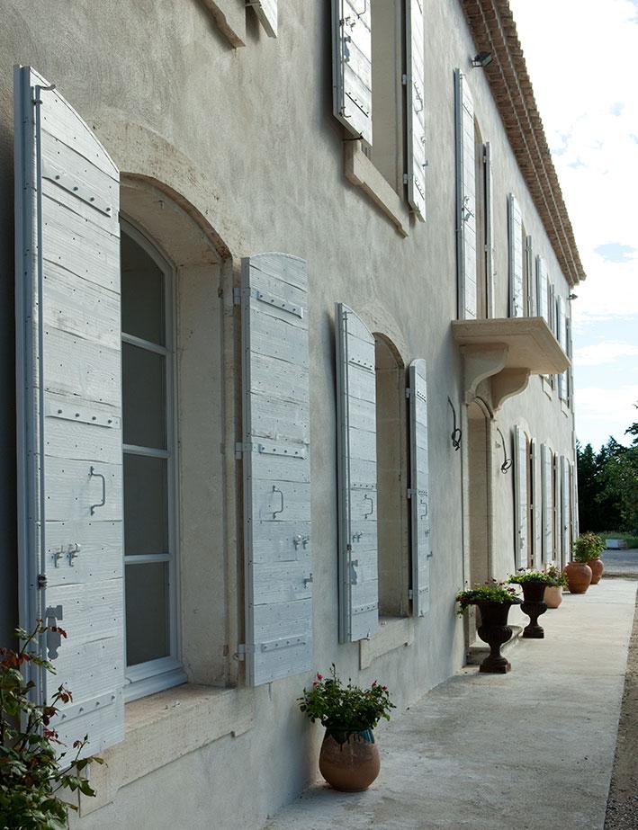 Atelier mus nos volets - Volet porte fenetre persienne bois ...